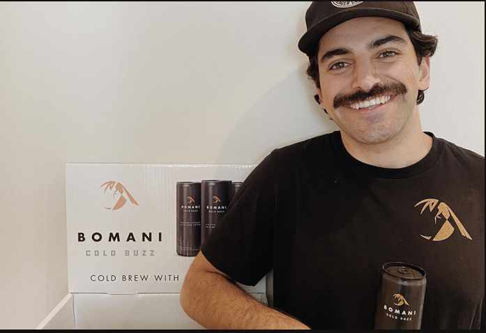 The creation of alcohol-infused cold brew coffee Amin Anjedani, Chief of Product & Design